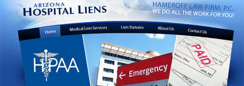 Arizona Hospital Liens
