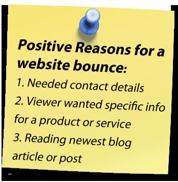 Positive Bounces
