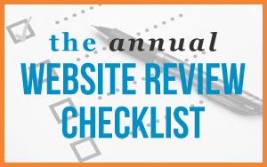 The Annual Website Review Checklist