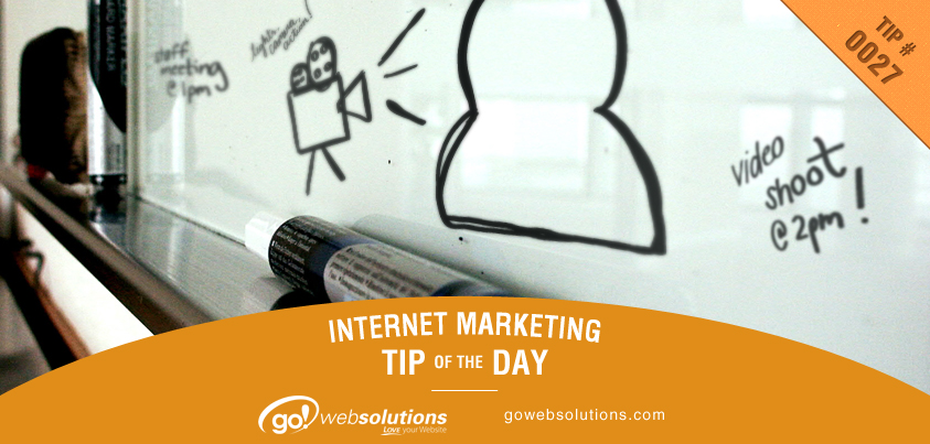 Marketing Tip 10-17-13