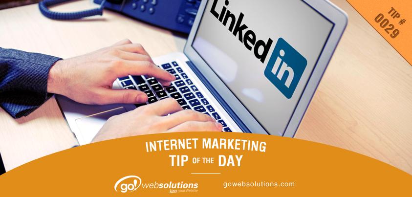 Be Social on LinkedIn