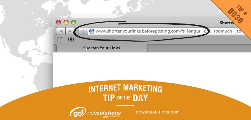 Use URL Shortener