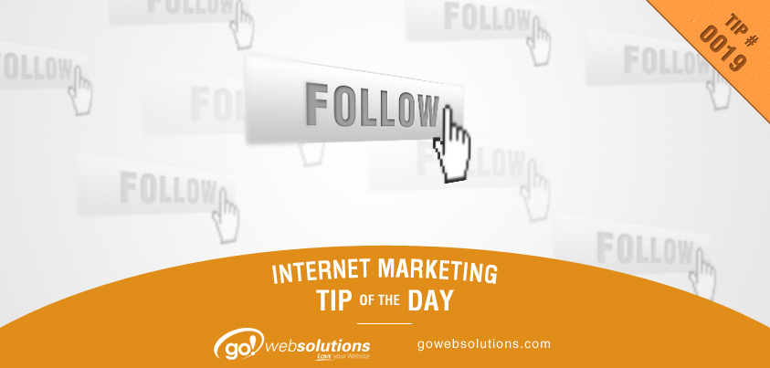 Marketing Tip 10-7-13