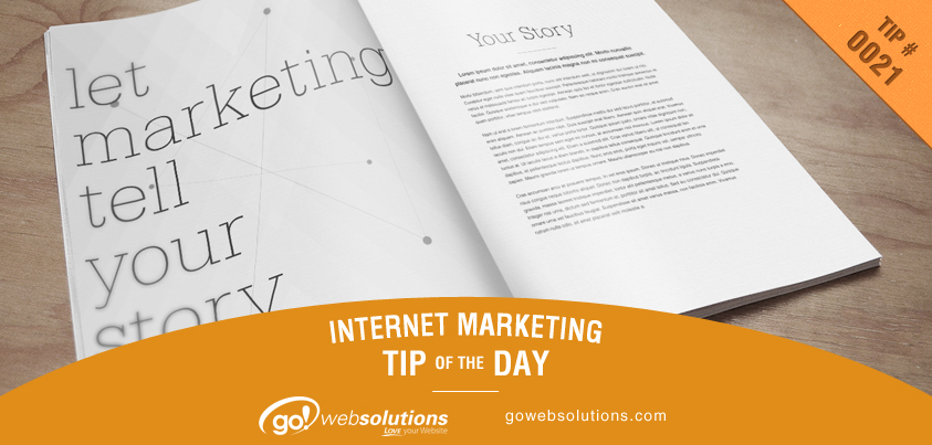 Marketing Tip 10-9-13
