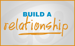 Build a relationship with the readers / viewers