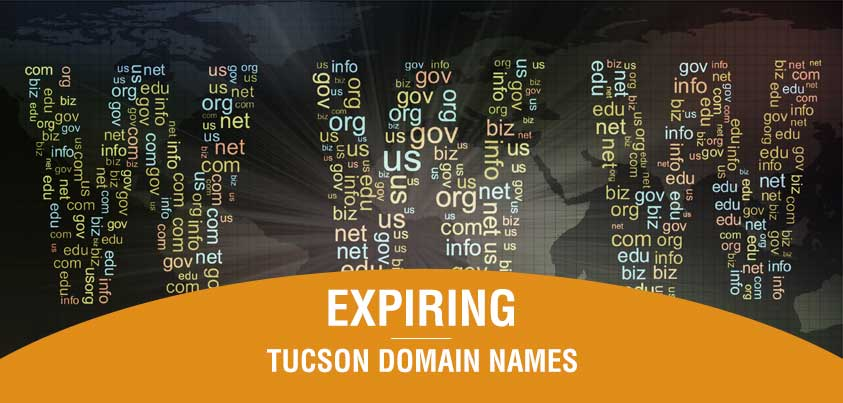 Expiring Tucson domain names